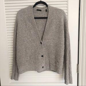 ATM Cozy Boyfriend Cardigan Sweater